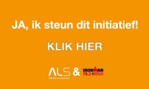Donatie Ironman voor Stichting ALS  Nederland